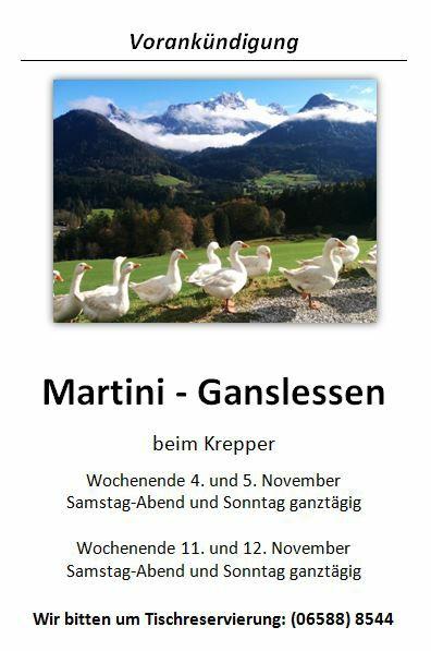 Krepper Martini Gansl Plakat