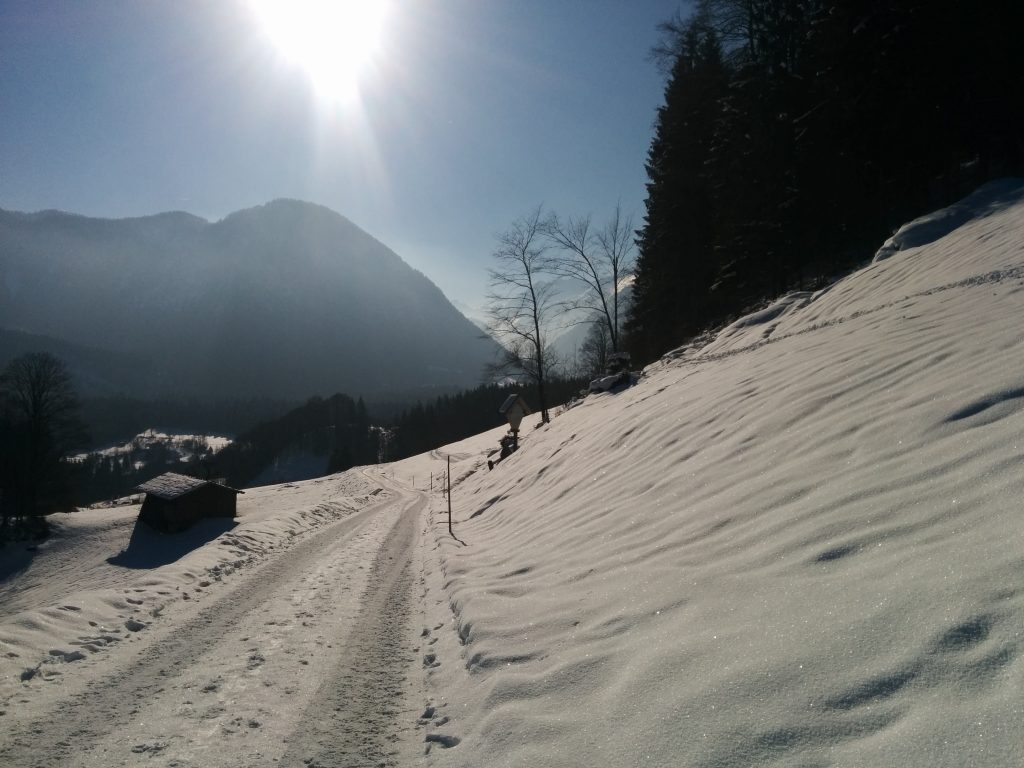 Lofer Winter Panorama Krepper