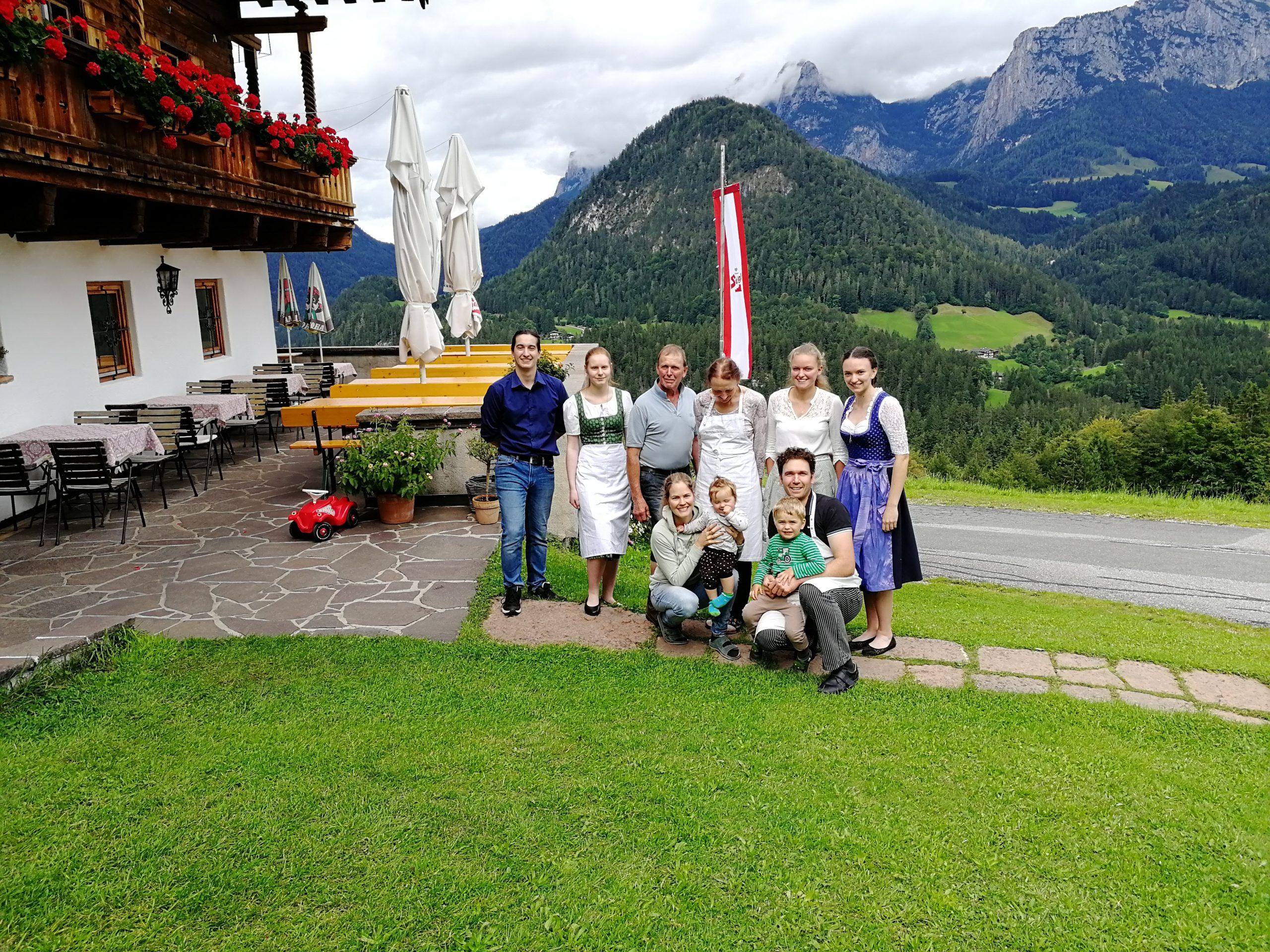 Lofer Krepper Krepperhof Restaurant Gasthaus Team
